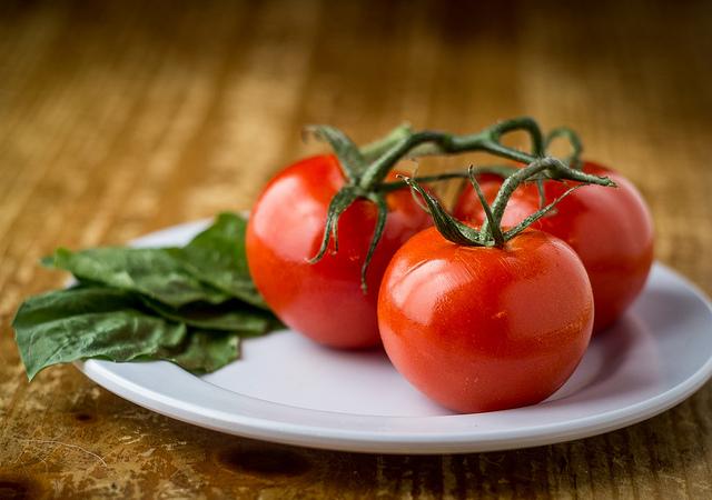番茄、茄紅素